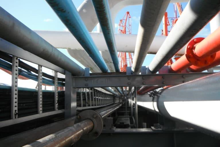 Port Taranaki Pipe Support Project